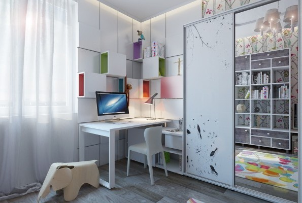 Quirk up your workspace in the house