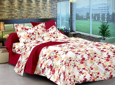 Bombay Dyeing Clover Double Bed Sheet
