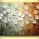 Texture paintings & techniques