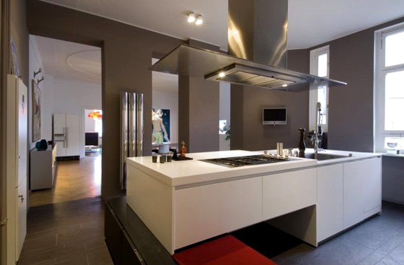 amazing Modern Interior Design Ideas For Kitchen #2: Advance Designing Ideas For Kitchen Interiors
