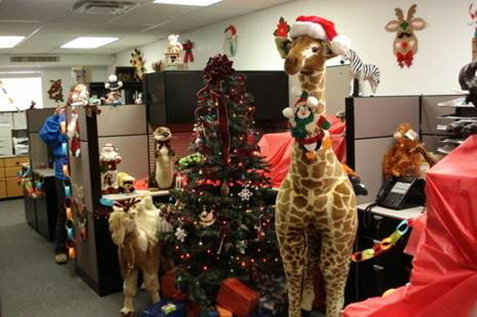christmas decoration ideas for office. Office Christmas Decorating. 12 Decorating Decoration Ideas For