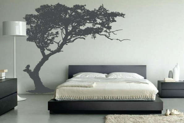 decoration for your home interior with stunning tree images wall art - Home Interior Wall Design