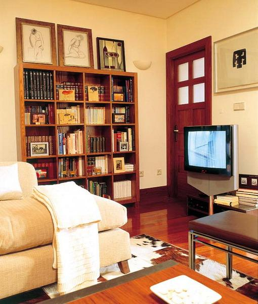 Small home library designs arelike modern interior designing ideas that provide pleasant and nice look to your spaces and gives a special touch to your ... & Inspirational small home library