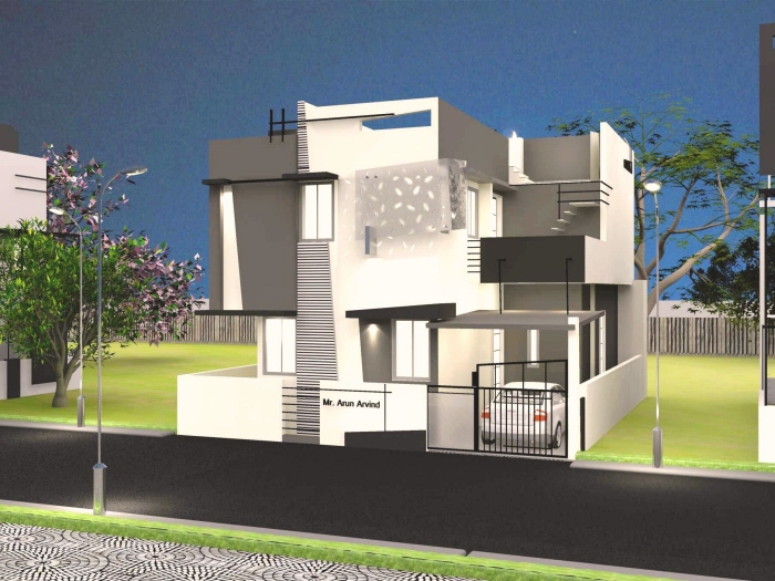 Best Architecture Houses In India beautiful front elevation house designashwin architects