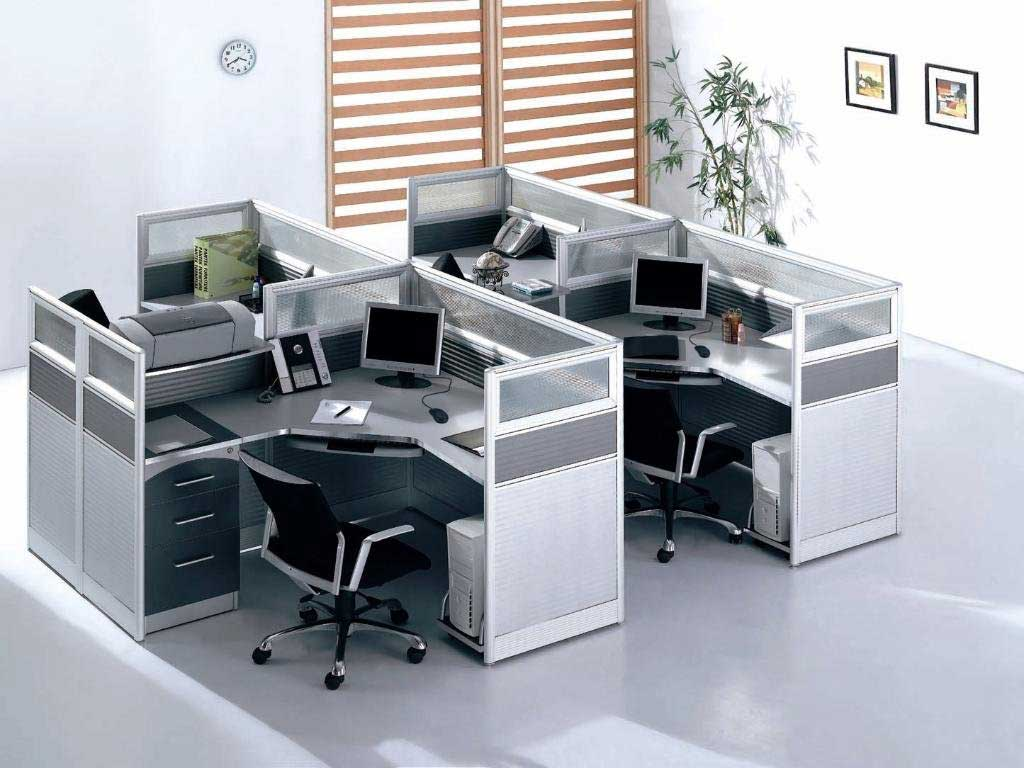 modern office work stations