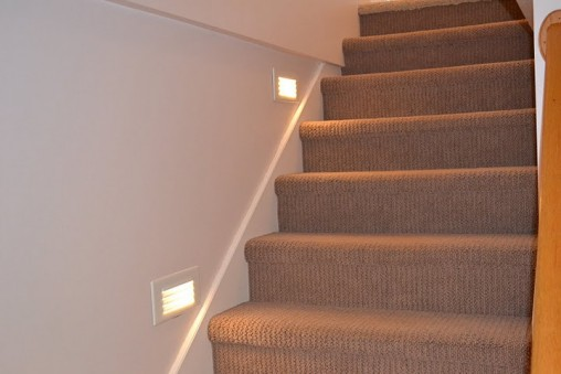Basement Stair Ceiling Lighting: Staircase Lighting Ideas