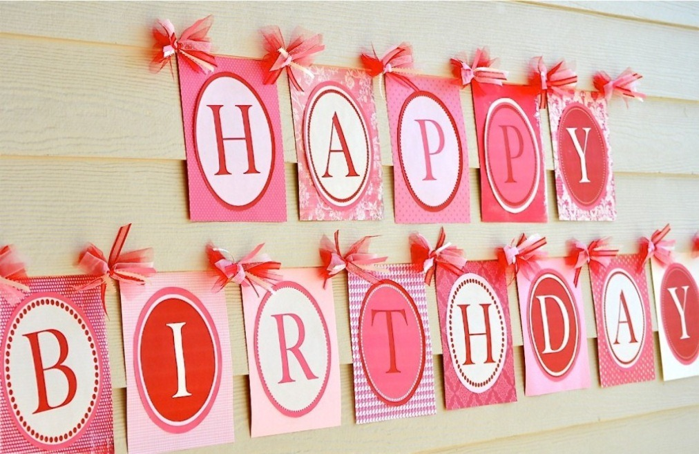 Birthday party decoration ideas Home decoration for birthday girl