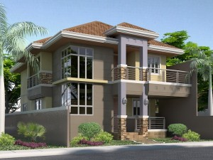 home design front elevation 15 16 - Front Home Designs