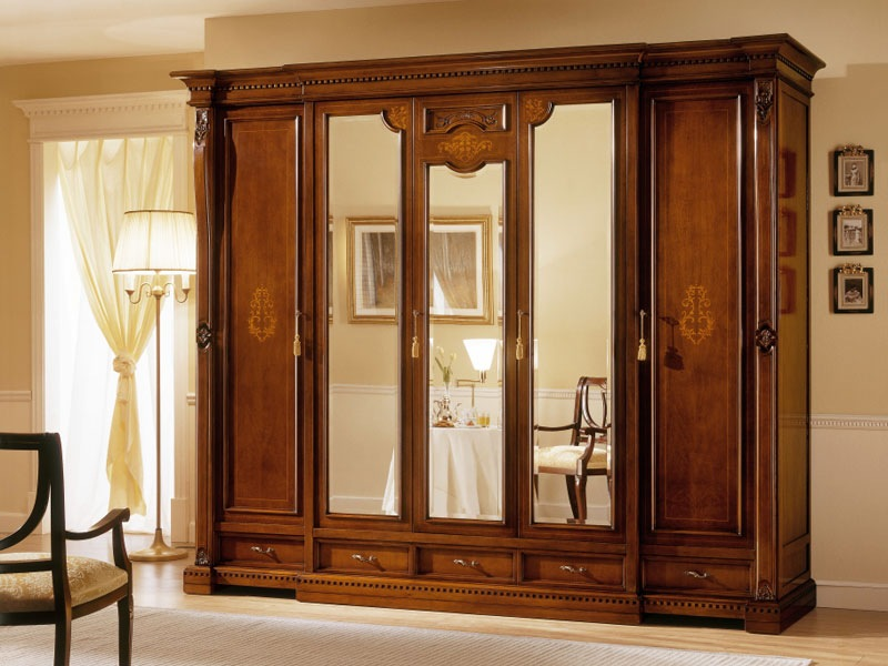 Mirror wardrobes for elegant bedroom designs - Wardrobe design ...