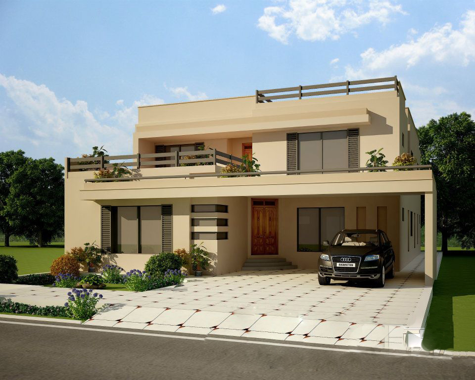 tips home design: Home Design Front Elevation