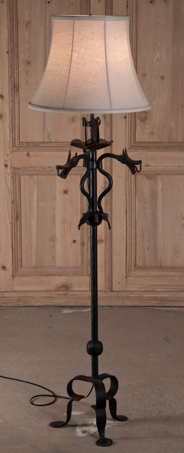 Magnificent Gothic Floor Lamps