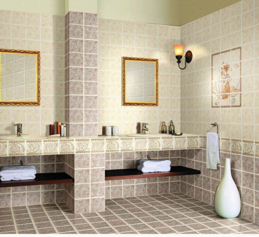 Best bathroom ceramic design ideas for Ceramic tile flooring designs kitchen