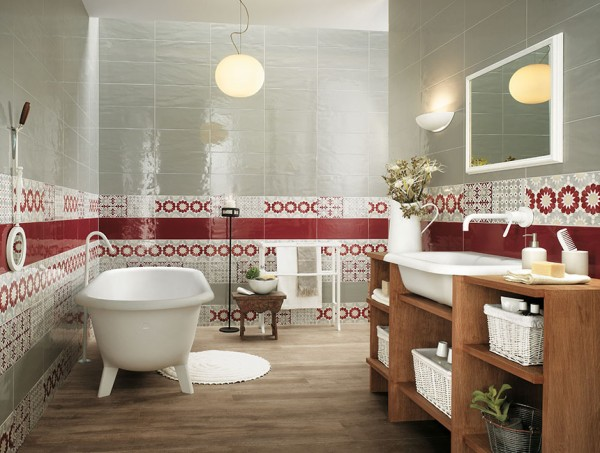 19-Red-white-bathroom-border-tiles-600x453