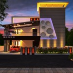 Modern 3D Indian Front Elevation Designs from Ghar360- 2015