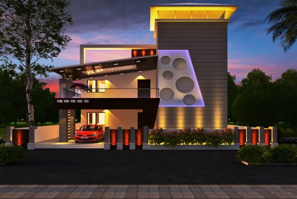Indian best front elevation designs