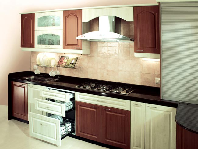 10 beautiful modular kitchen ideas for indian homes for Small kitchen design indian style