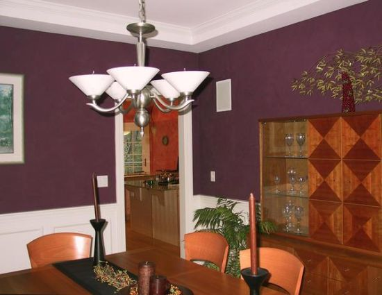 There Are A Myriad Colors To Choose From When You Plan To Use The Trick Of  Half Painting Your Walls. The Dining Area In The Image Would Have Looked  Plain ...