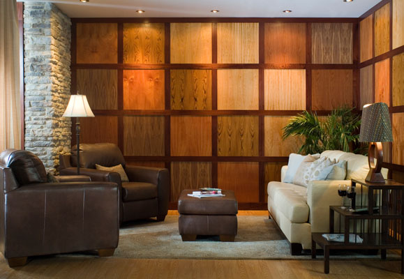 Wooden wall paneling ideas for Paneling makeover ideas