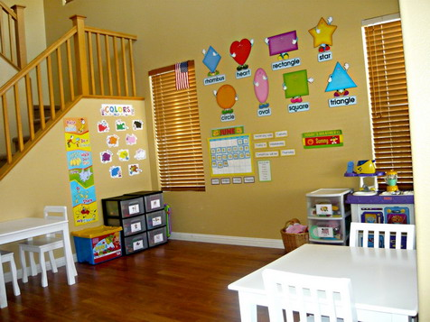 Innovative kids classroom ideas for Preschool wall art ideas