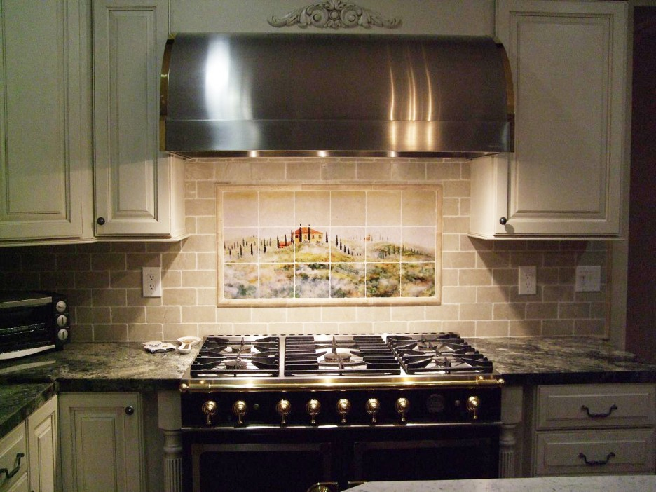 colorful kitchen decoration backsplash tiles