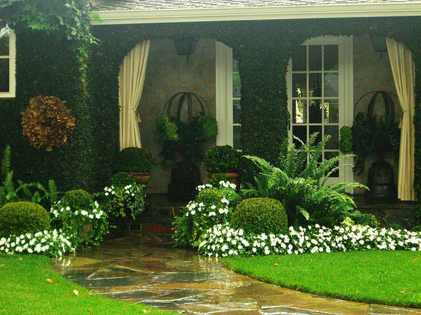 Home garden landscaping ideas for Home garden ideas