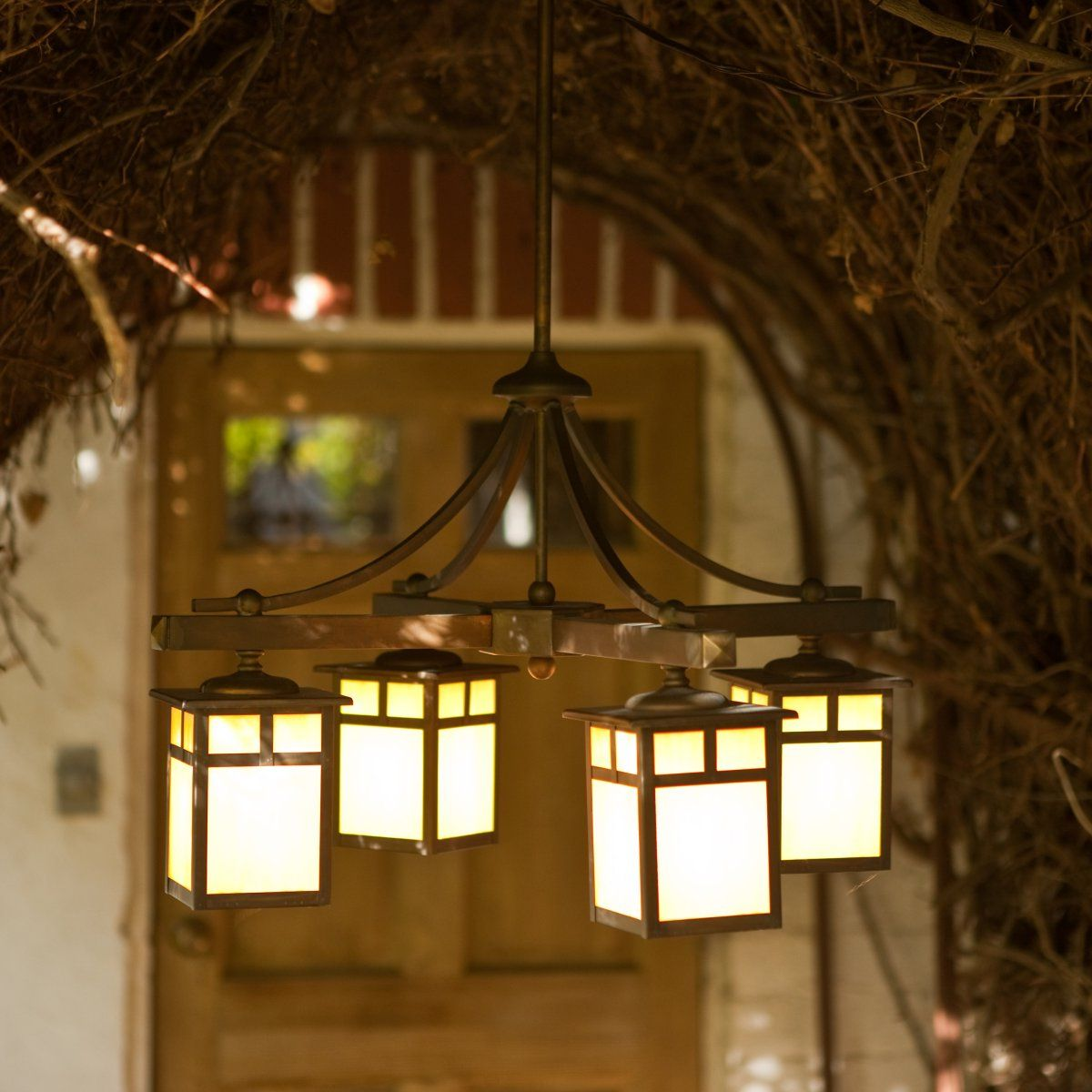Decorate your outdoor space with beautiful outdoor hanging for Hanging outdoor light fixtures