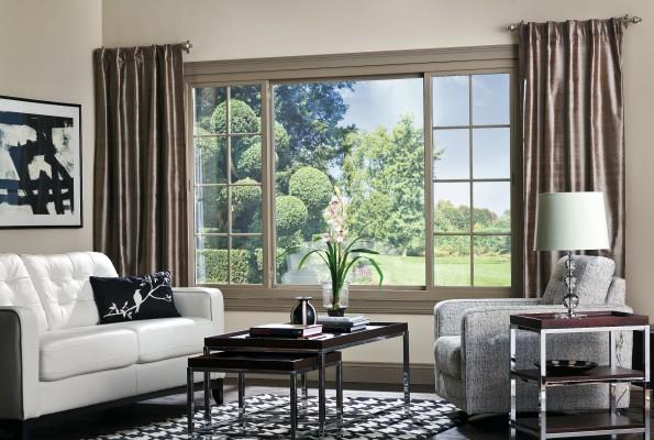 Elegant sliding windows for stunning interiors