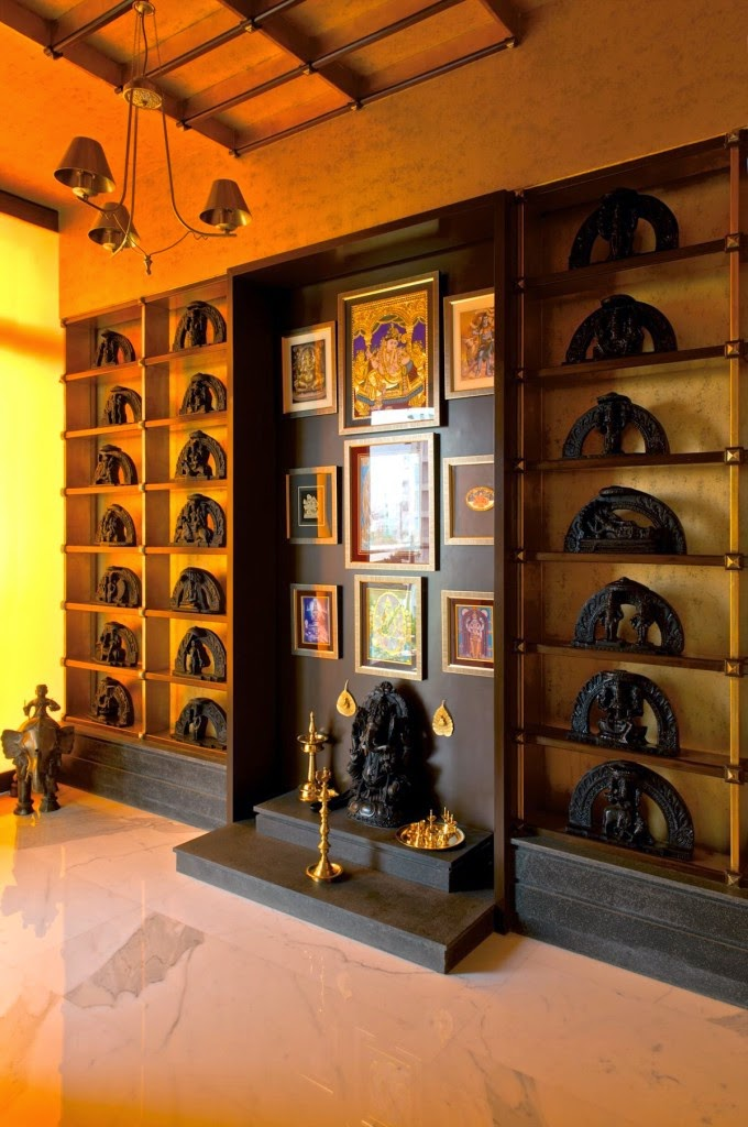 Prayer Room Design Ideas Part - 20: Designing The Divine Space- Prayer / Pooja Room