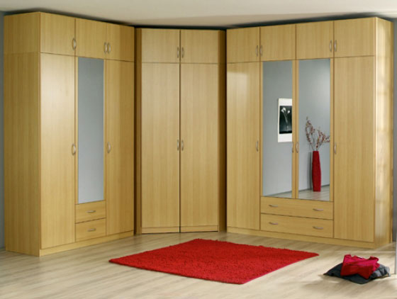 Mirror wardrobes for elegant bedroom designs