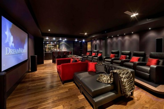 3 - Home Theater Interior Design