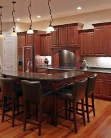 Magnificent Kitchen Designs With Dark Cabinets