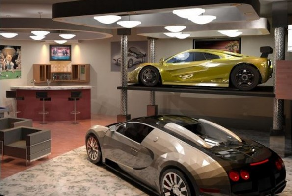 Smart u0026 Trendy decoration ideas for home garage