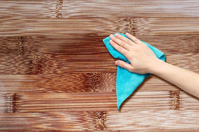 Removing of stickiness or little soil can be done by simply cleaning the  furniture by wet cloth and immediately wiping it with dry cloth. How to make your wooden furniture shiny