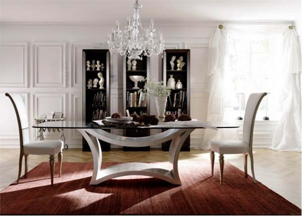 For That Perfect Look Of Modern Dining Table Better To Go The Whole Set With Chairs It Avoid Any Other Kind