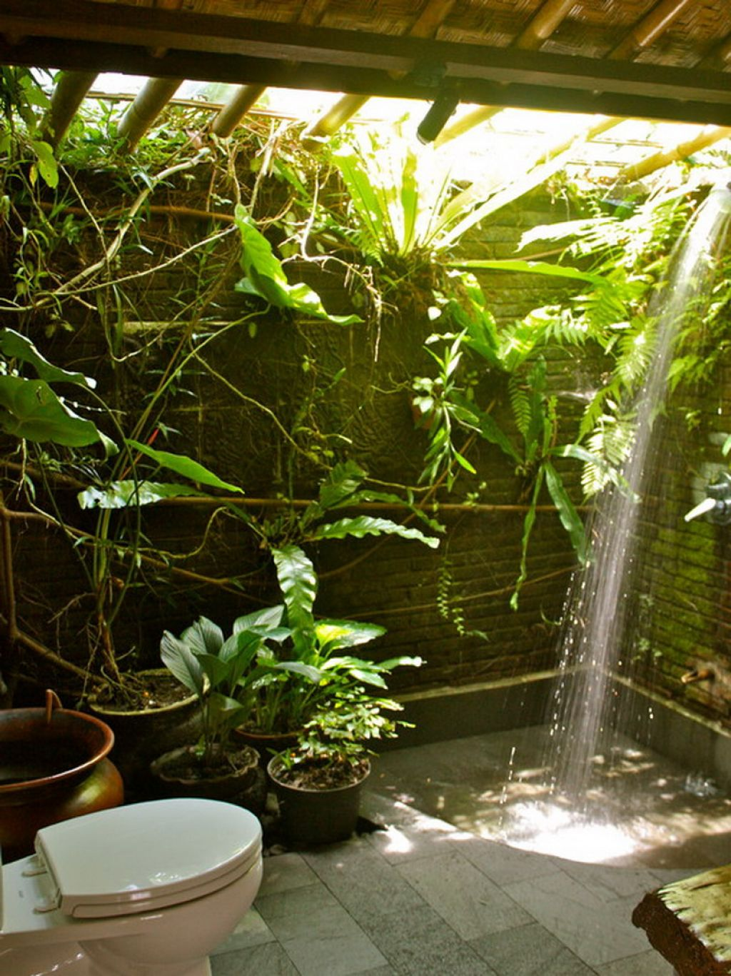Master Bathroom Shower Ideas Splendid Bathroom Design For Nature Lovers
