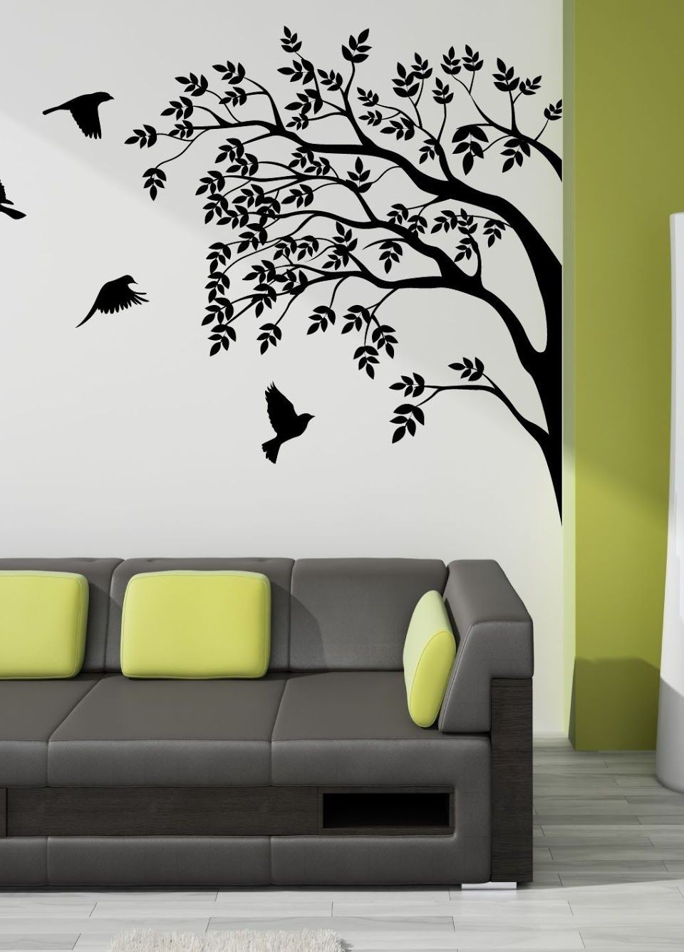 Decoration For Your Home Interior With Stunning Tree Images Wall Art - How do you put up wall art stickers