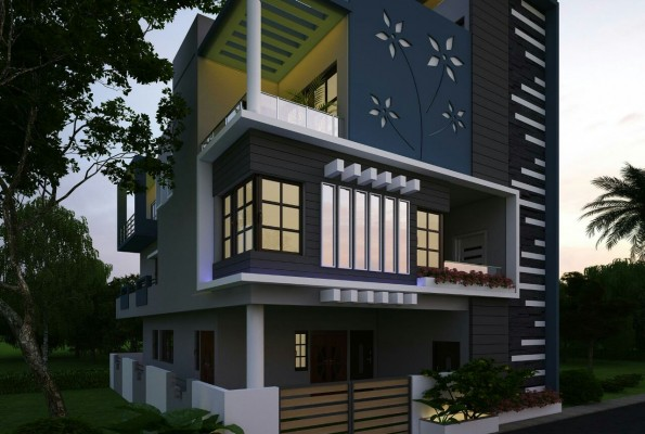 Latest house elevation designs 2016 Latest 3d home design
