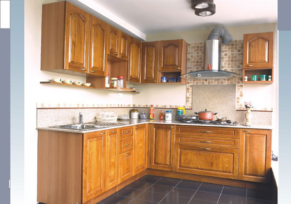 10 beautiful modular kitchen ideas for indian homes for Normal kitchen design