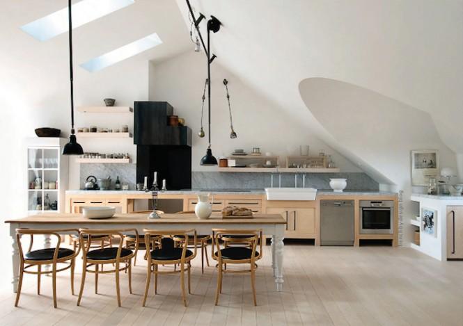 loft kitchen ideas - kitchen amazing natural project on