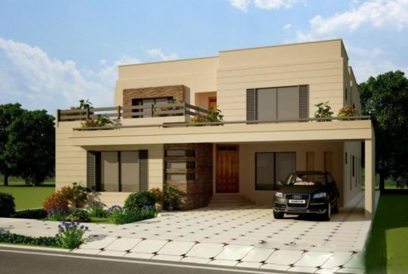 Front Elevation Texture Designs : Elegant front elevation designs