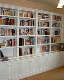 Inspirational small home library