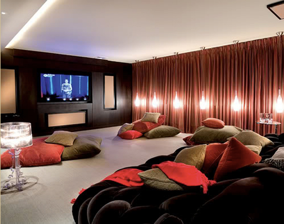 Home Theatre Design Ideas 1127 simple home theater design photos Home Theater In A Box Htib Systems Usually Five Surround Sound Speakers A Subwoofer And A Disc Playeramplifier Sold As A Unit In One Box Hence The