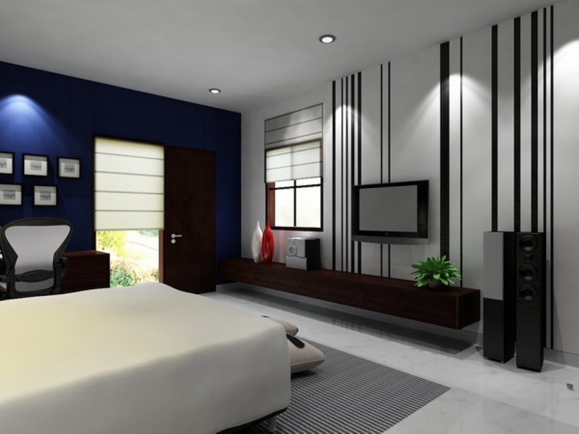 Keep A Perfect Platform To Your Television Viewing By Just Mounting The It  On The Bedroom Wall.