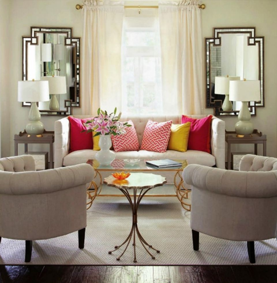 Placing a custom made mirror with artistic frame according to the room size and furniture placement will be like putting up cherry on the cake top