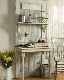 Making a home beautiful using premative items