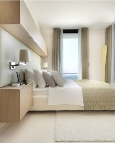 Practical And Minimalist Look Of Wall Mounting Television Ideas In Your Bedroom