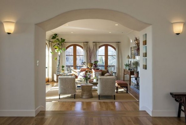 Arches its types for interiors for Arch design indian home plans