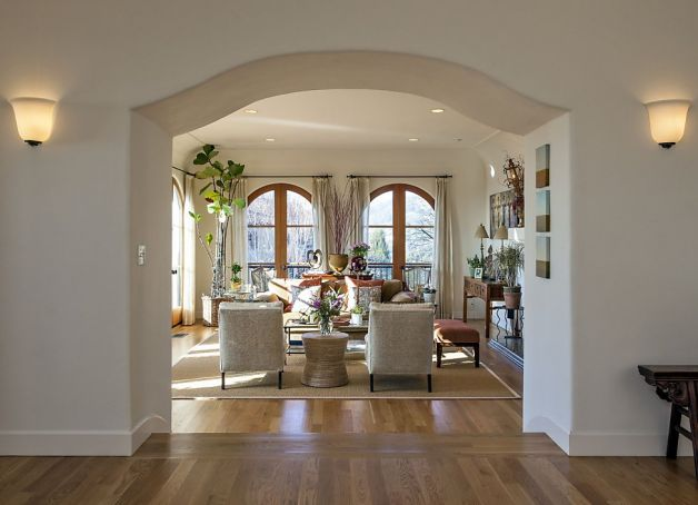 arch design for living room.  Arches Its types for Interiors