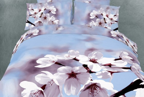 3D Flowers Printed Bedding Set for your Bedroom