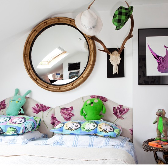 Kids bedroom design ideas for Quirky bedroom items